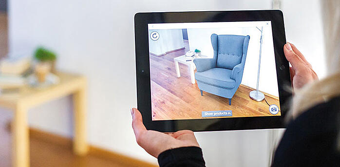 Augmented reality answers to customer needs