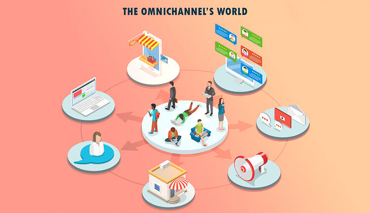 Omnichannel's world in eyewear field