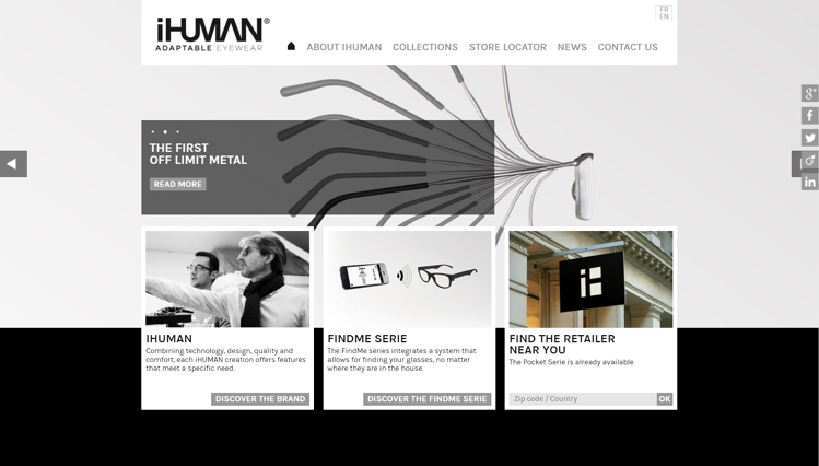 Ihuman is specialized in state-of-the-art optical technology