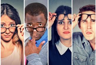Les porteurs de lunettes ont des attentes très diverses.